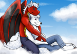 In the clouds by twincash