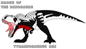 March of the Dinosaurs - day 1 by Absol989