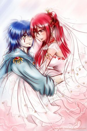 Erza and Jellal: you may kiss the bride... by Rinoa-Light-Leonhart