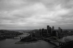 Pittsburgh, PA. by CupCandyCake