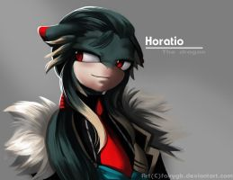 Horatio the dragon by FairyGB