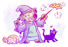 Pizza Witchsona by raizy