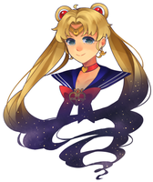 Sailor Moon by ZeroLifePoints