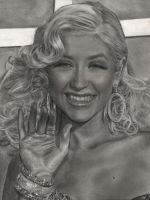 happy xtina by aramismarron