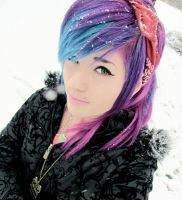 Leda- Cotton Candy Hair by LedaMonsterBunnyLove