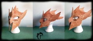 Eagle Helmet WIP by Feral-Workshop