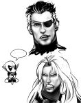 Marvel Character Doodles by AnimantX