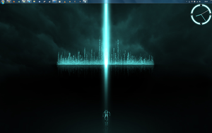 TRON Rainmeter Project preview by Janku-Roketto