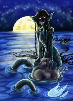 Moonlight Mermaid by norsepearl