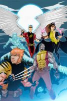 Family X-men Commission by TheAdrianNelson