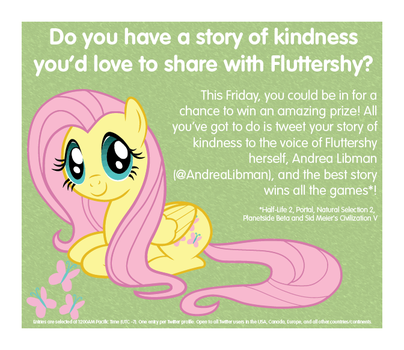 Stories of Kindness Twitter competition advert by AurumNoble