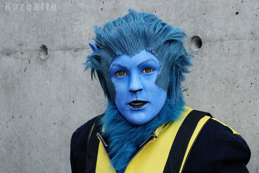Xmen First Class Cosplay - Beast Closeup by Kozekito