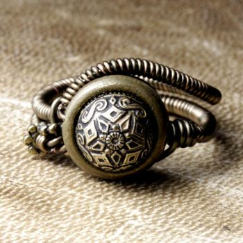 Mystical Ring Steampunk by CatherinetteRings