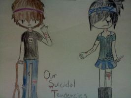 Our Suicidal Tendencies by SpaceCadette69