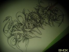 SmecK Graffiti Sketch 28 #Unfinished by SmecKiN