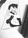 Monkey D. Luffy~ from One Piece by momovvip