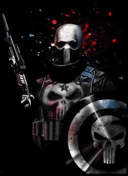 Epic Captain Punisher by HeroforPain