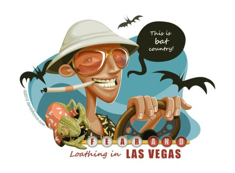 Fear and Loathing in Las Vegas by DaniloFiocco