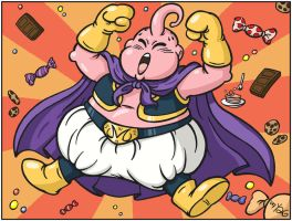 Majin Buu is Cool by Yuji28Go