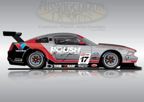 Roush Performance Mustang GT3 by ArmageddonDesigns