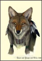 """Choclate"" Coyote by Grion"