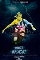 Milos Krasic Poster by ManiaGraphic