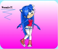 Is That Sonic by Crystalthehedege