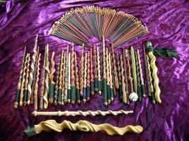 109 Magic Wands by MerlinOfManitou