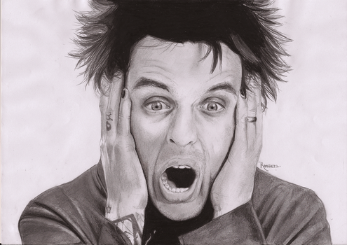 Billie Joe Armstrong Portrait by LauraRamirez