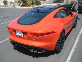 Jaguar F-Type R Rear by granturismomh