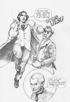 'Action' Oscar Wilde - pencils by Nick-Perks