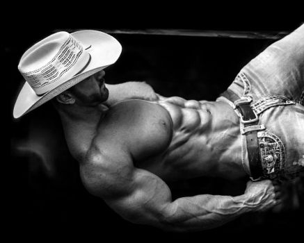 Relaxed Cowboy Muscle by BigBergMan