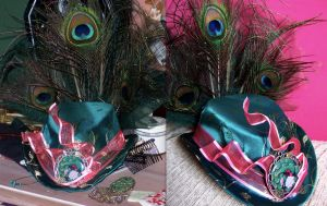 Peacock Hat by pennyfarthing1893