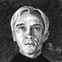 Draco Malfoy by LoonaLucy