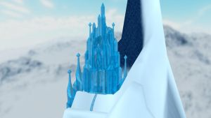Elsa Ice Castle MMD Stage DL source by animefancy-mmd