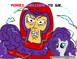 Ultimate: Magneto is Best Pony by RyomaGod