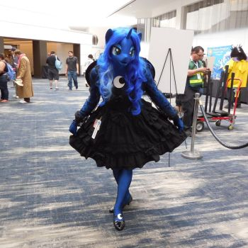 Princess Luna My Little Pony Cosplay at Babscon by BrambleBunny