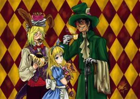 Mad Tea Party by sylent-realm