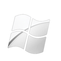 windows logo apple Chrome styl by BarLevi