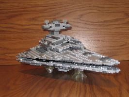 Imperial II class Star Destroyer front by Taggerung1