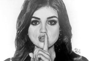 Lucy Hale by analuizantunes