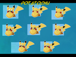 Telegram Stickers: Potatochu by Void-Shark