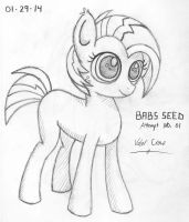 2014-01-29-Babs Seed, Attempt 01 by Valorcrow