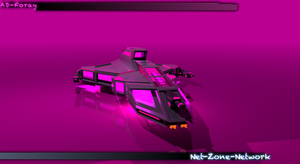3D Art work of my AD-Foray ship. by Net-Zone-Network