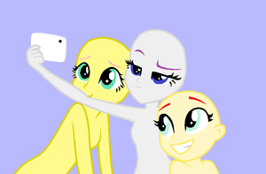 Base - le selfie group by ToxicWaffleQueen