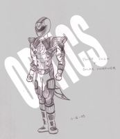 White Solaris Power Ranger v.2 by 0PT1C5