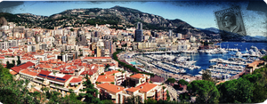 Old souvenir of Monaco by digitalminded