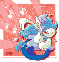 Totally Fake Gen 7 Starter Evolution (Primarina)