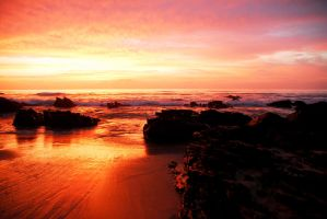 South African Sunrise LSF by strangledbyart