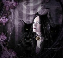 Goddess of Night by Fae-Melie-Melusine